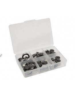 Boom Racing High Performance Full Ball Bearings Set Rubber Sealed (27 Total) for Axial RR10 Bomber