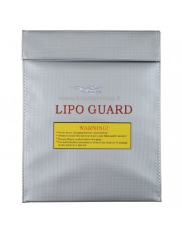 Fireproof protective bag for Himoto lipo battery in glass fiber 300x230mm