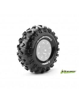 "Louise RC - CR-ROWDY - 1-10 Crawler Tires - Super Soft - for 2.2 ""Wheels - 1 Pair"