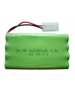 Ni-Mh AA2400mAh 9,6V (Tamiya connector)