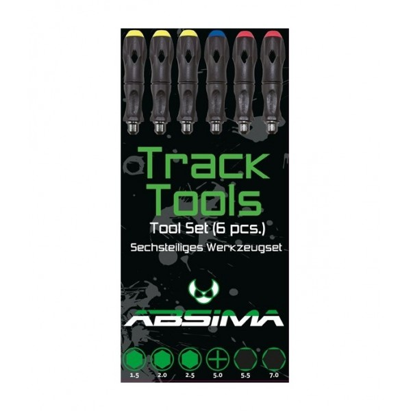 "Absima Tool Set (6pcs) ""Track Tools"""