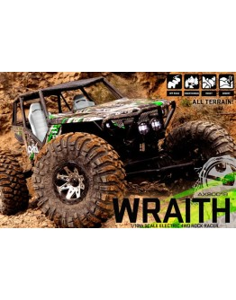 AXIAL WRAITH RTR 1/10TH ELECTRIC 4WD ROCK RACER