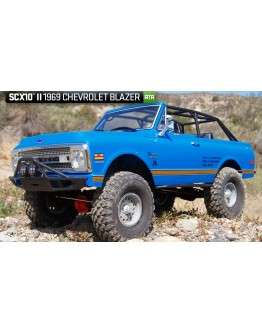 AXIAL SCX10 II 1969 Chevrolet Blazer 1/10th Scale Electric 4WD - RTR