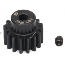 Boom Racing 32P 16T / 3.175mm Steel Pinion Gear - 1 Pc