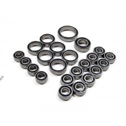 High Performance Full Ball Bearings Set Rubber Sealed (23 Total) for Axial Wraith