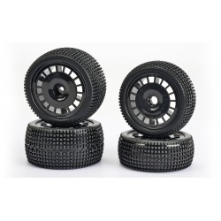Super Gripp 2WD Wheel-Set (4) 1/10