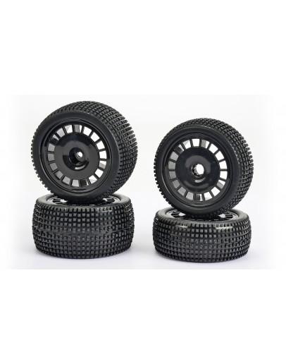 Super Gripp 2WD Wheel-Set (4) 1/10