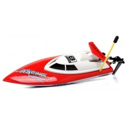 Double Horse: Motorboat FT008 1:18 (14km/h, 27MHz, RTR) - Red
