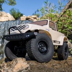 BARRAGE 1.9 Scale 1/12 4WD Brushed RTR, Tan