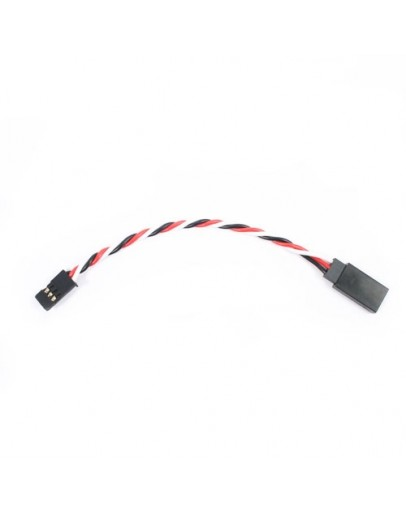 Etronix 10cm 22Awg Futaba Twisted Extension Wire