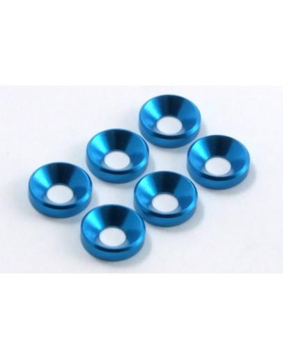 FASTRAX M4 SHIM WASHER (6) BLUE