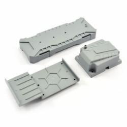 FTX MAULER ELECTRONICS & BATTERY TRAYS W/STRAP SET
