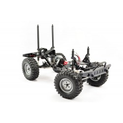 FTX OUTBACK 2 ROLLING CHASSIS 1:10 CRAWLER W/TUNDRA CLEAR