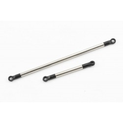 FTX OUTBACK 2.0 NICKEL PLATED STEEL STEERING ROD AND SERVO R