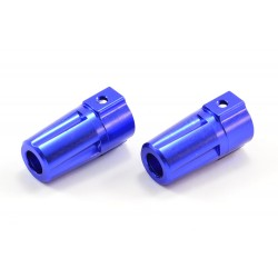 FTX OUTLAW/KANYON ALUMINIUM REAR AXLE ADAPTORS (2PC)
