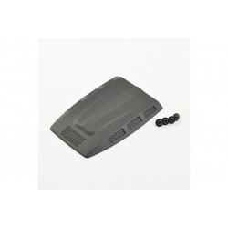 FTX OUTBACK FURY BODYSHELL MOULDED ENGINE COVER