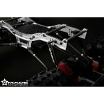 GMADE G-TRANSITION SHOCK RED 90MM (4) FOR 1/10 CRAWLER