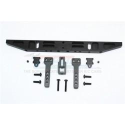 TRAXXAS TRX4 TRAIL CRAWLER Aluminium Rear Bumper With D-rings (Classic) - 14pc set