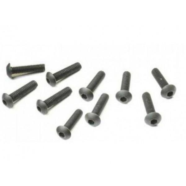 Hex Socket Screw, OH, M4x16mm (8)