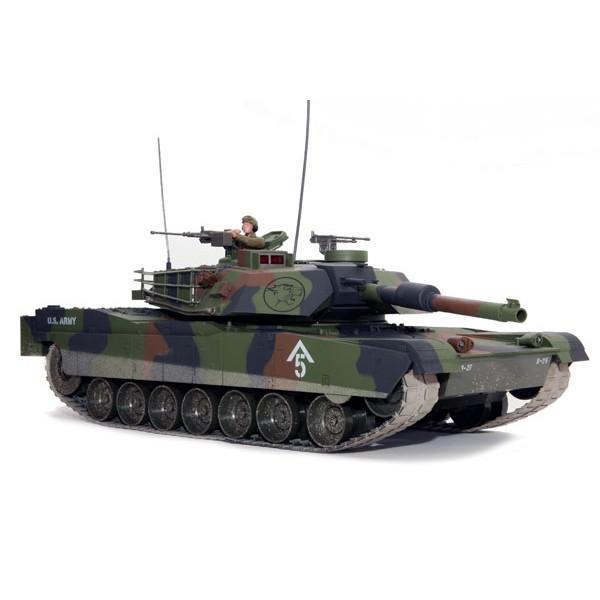 HOBBY ENGINE M1A1 ABRAMS BATTLE TANK - CAMO