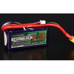 Turnigy nano-tech 1300mah 3S 25~50C Lipo Pack XT60