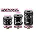 HUDY Adjustable Ride Height Gauge 20-30mm