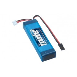 LIPO 3000 TX-PACK SANWA M12/M12-S/MT-4/MT-4S/MT-S/EXZES-Z/SD-10GS - TX-ONLY - 7.4V