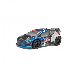 RALLY PAINTED BODY BLUE (RX) 1/10
