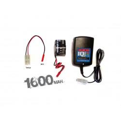 COMBO CHARGEUR IQ801- RX 1600 (ORI30197+ORI12232) EU-BEC