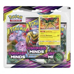 PKM Sun and Moon 11: Unified Minds 3 Pack Blister