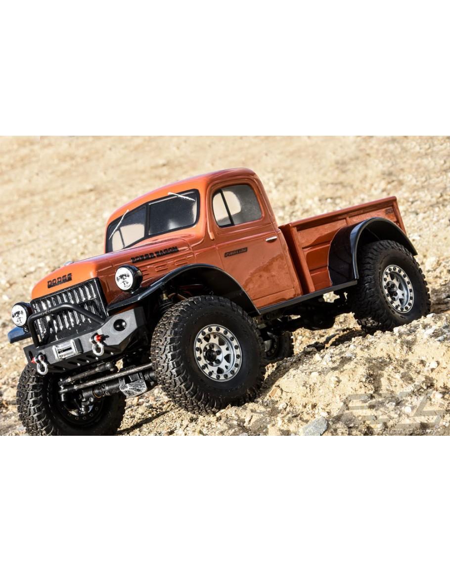 Proline 1946 Dodge Power Wagon Clear Body Crawler 313mm Wb