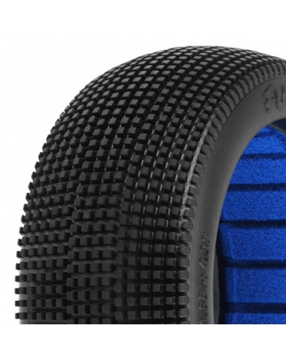 PROLINE 'FUGITIVE' S3 SOFT 1/8 BUGGY TYRES W/CLOSED CELL