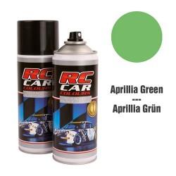 RC Car Colours Tinta para Policarbonato/Lexan Verde Aprillia