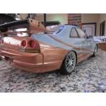 1:10 RC Nissan Skyline GT-R R33 TT-02D (Pre-Mounted)