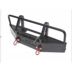Team Raffee Co. Front Bull Bar with Towing Hooks For D90/D110 Black