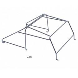 Team Raffee Co. Steel Roll Cage Rack for Team Raffee Co. Defender D90 Pickup