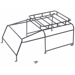 Team Raffee Co. Steel Roll Cage Rack w/ Luggage Tray for Team Raffee Co. Defender D90 2-Door