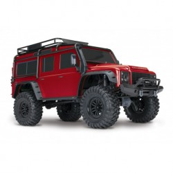 TRX-4 RED Scale & Trail Defender Crawler