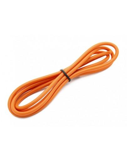 Silicone 1m 14AWG (laranja)