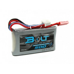 Turnigy 500mAh 7.6V 2S 65 ~ 130C High Voltage Lipoly Pack (LiHV)