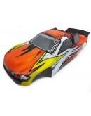 (Orange) Mega Truck Sword 1/10 Off road with GO.18 2-speed 2.4 GHz 4WD RTR VRX petrol engine