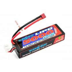 VOLTZ 5000mah 2S 7.4V 50C HARDCASE LiPO STICK BATTERY PACK