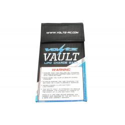 VOLTZ CHARGE VAULT LIPO SACK/BAG SMALL 10CM X 20CM
