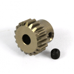 Aluminum 7075 Hard Coated Motor Gear/Pinions 48 Pitch 17 Teeth