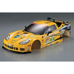 CORVETTE GT2 190MM YELLOW FINISHED BODY