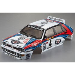 LANCIA DELTA HF INTEGRALE 190MM FINISHED BODY RALLY