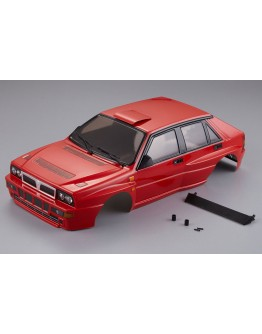 LANCIA DELTA HF INTEGRALE 190MM FINISHED BODY RED