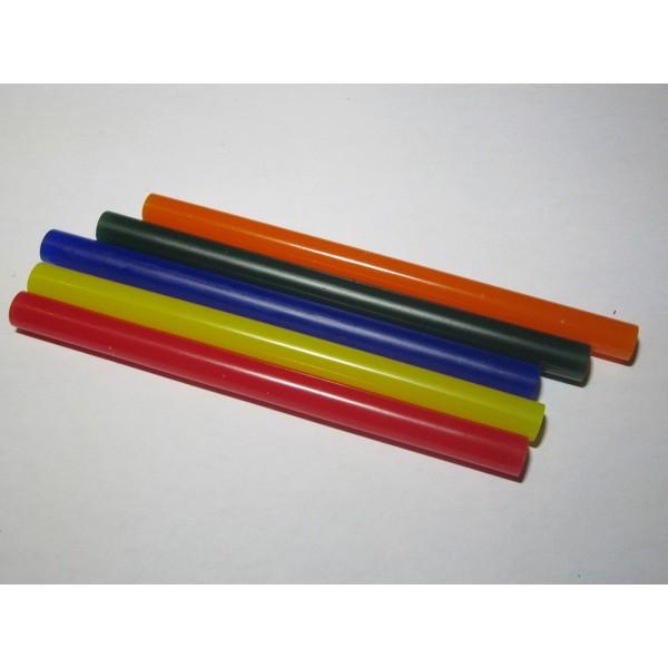 Hot Glue Sticks 7 x 100mm (5pc) Multicolor