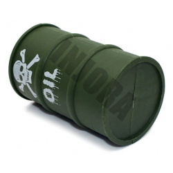 PAINTED OIL CAN Militar (green)