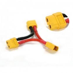 Adapter cable XT60 2x esc serial